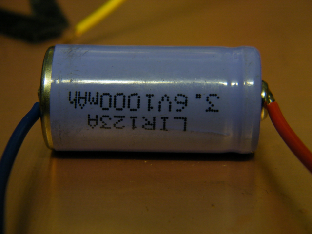 LiIon battery with flyleads
