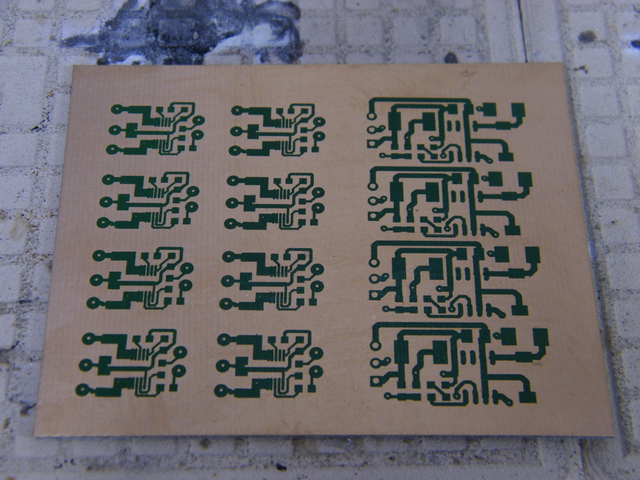 Unetched PCBs