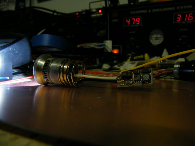 Testing the boost converter